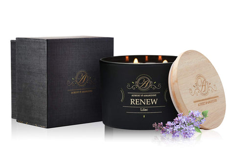 Renew Soy 3 Wick Candle - Lilac