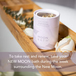 New Moon Botanical Bathtub Tea Soak