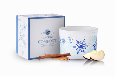 Comfort Soy 3 Wick Candle - Cinnamon Apple
