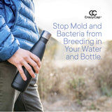 UV Water Purifier Cap and Insulated Self Cleaning Water Bottle