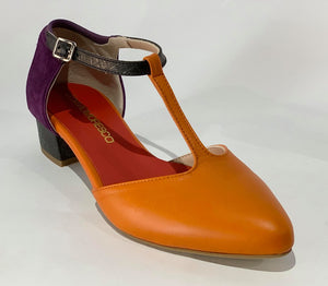 CHARLESTONE ORANGE/PURPLE