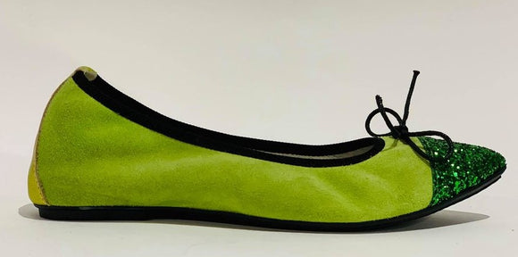BALLERINA 702 GREEN ONLY 37-39