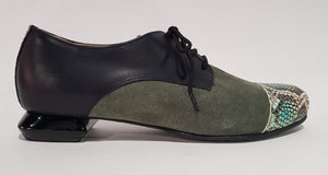 FRANCESINA GREEN/BLACK