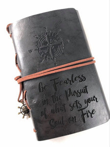 Be Fearless Engraved Journal