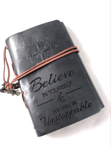 Believe in Yourself Engraved Journal