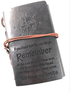 You Have No Limits Engraved Journal