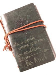 Be Kind Engraved Journal