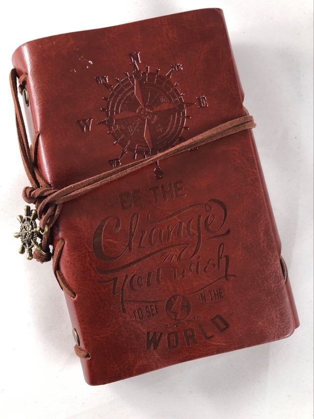 Be The Change Engraved Journal