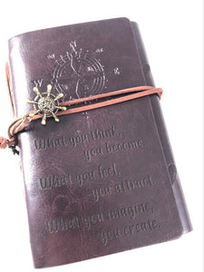 What You Think You Become Engraved Journal