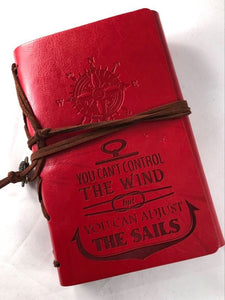 You Can't Control The Wind Engraved Journal