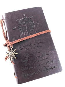 Happens For A Reason Engraved Journal