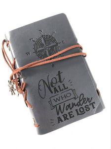 Not All Who Wander Engraved Journal