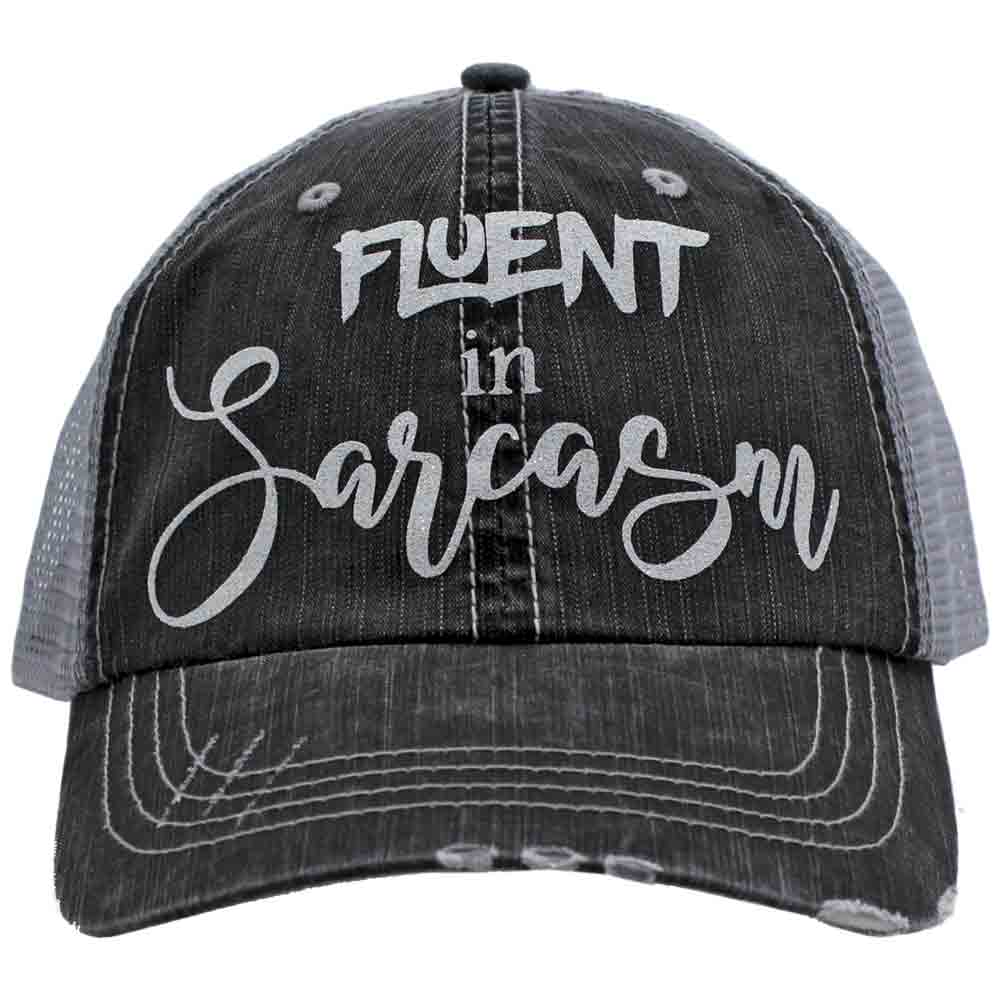 Fluent in Sarcasm Trucker Hat