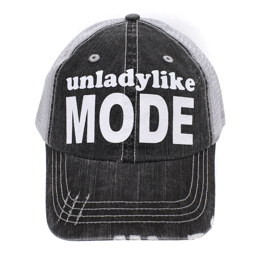 Unlady Like Mode Trucker Hat