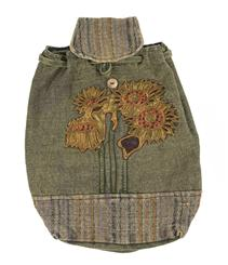 Drawstring Backpack - Sunflowers
