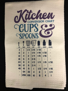 Kitchen Measurements Kitchen Towel - 1