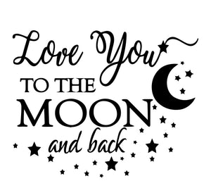 Love You To The Moon & Back Engraved Journal