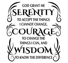 Load image into Gallery viewer, Serenity Prayer Engraved Journal