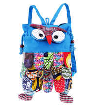 Load image into Gallery viewer, Funky cute owl backpack
