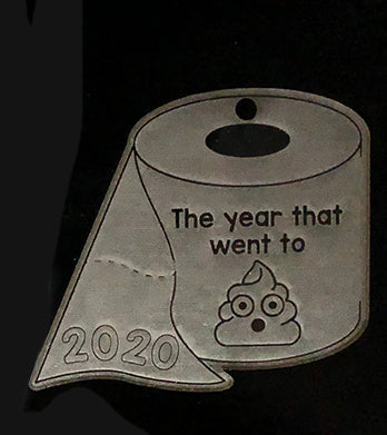 2020 went to shit Acrylic Ornament