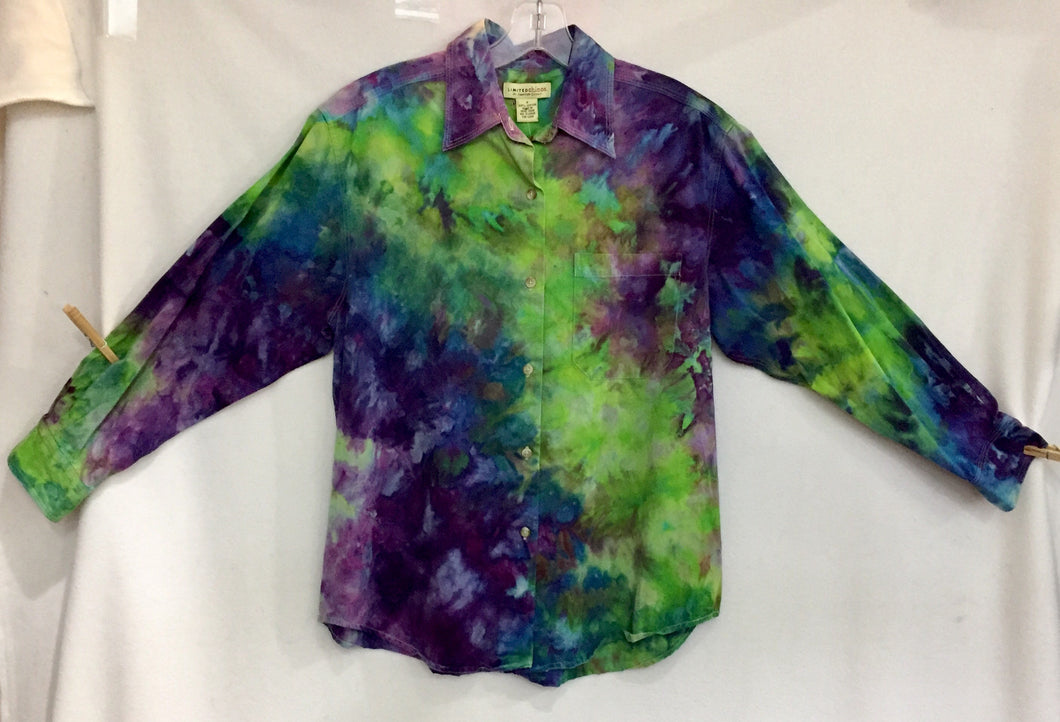 Fresh Ice Tie-Dye on Recycled Shirt S