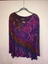 Load image into Gallery viewer, Long Sleeve Tie Dye Tunic