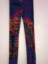 Load image into Gallery viewer, Razor Cut Tie-Dye Leggings