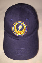 Load image into Gallery viewer, Orange Sunshine Steal Your Face on Denim Baseball Cap