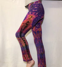Load image into Gallery viewer, Tie Dye Yoga Pants