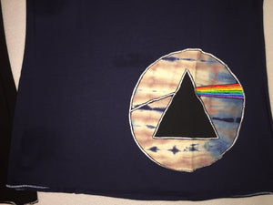 Pink Floyd Appliqué Dark Side Top