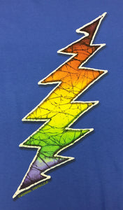 Blue Lightning Bolt Grateful Dead T-Shirt