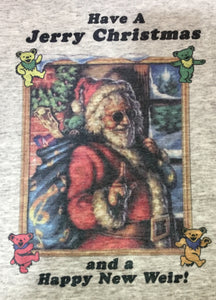 Jerry Garcia Christmas T-Shirt