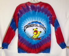 Load image into Gallery viewer, Grateful Dead Snow Bears Tie-Dye Long Sleeve T-Shirt