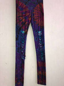 Razor Cut Tie-Dye Leggings