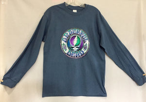 Batik SYF on Teal Long Sleeve T-Shirt