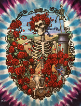 Load image into Gallery viewer, Bertha Skull & Roses Long Sleeve T-Shirt M