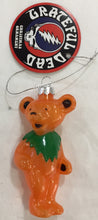 Load image into Gallery viewer, Grateful Dead Dancing Bear Christmas Ornament - 3 Colours