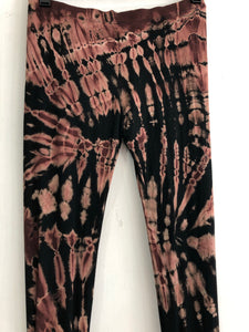 Brown Tie Dye Leggings