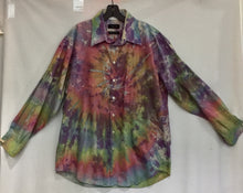 Load image into Gallery viewer, Fresh Ice Tie-Dye on Recycled Shirt XL