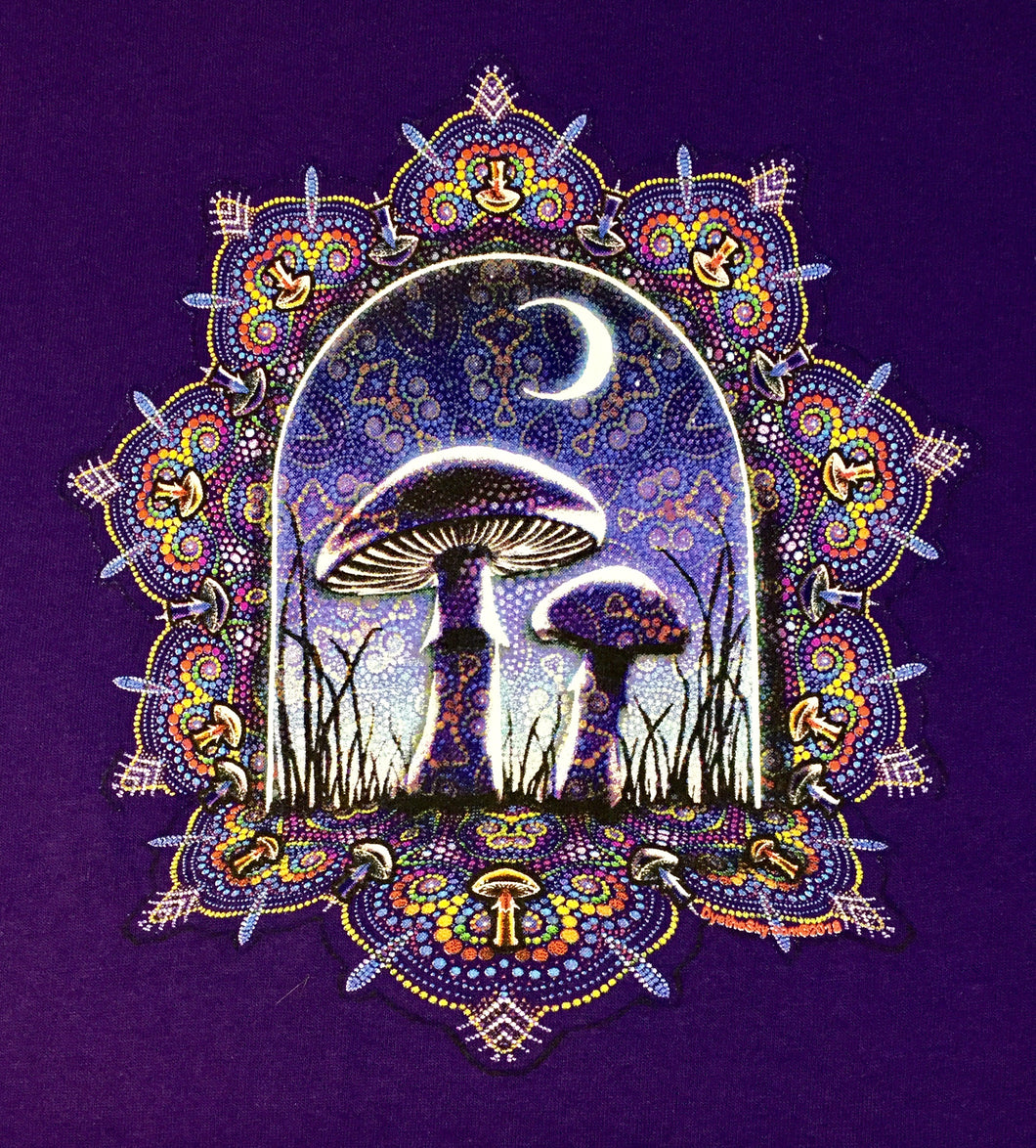 Purple Mushrooms T-Shirt