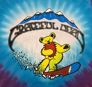 Grateful Dead Snow Bears Tie-Dye Long Sleeve T-Shirt