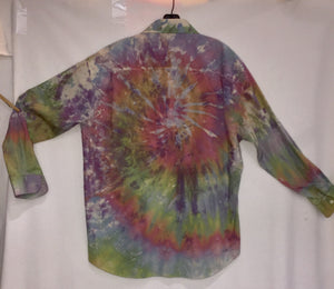 Fresh Ice Tie-Dye on Recycled Shirt XL