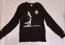 Load image into Gallery viewer, Wolf & SYF Black Long Sleeve T-Shirt