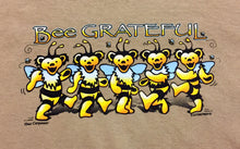 Load image into Gallery viewer, Bee Grateful Tan Short Sleeve T-Shirt