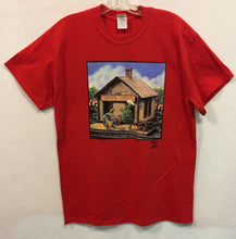 Load image into Gallery viewer, Terrapin Station Grateful Dead Red Short Sleeve T-Shirt