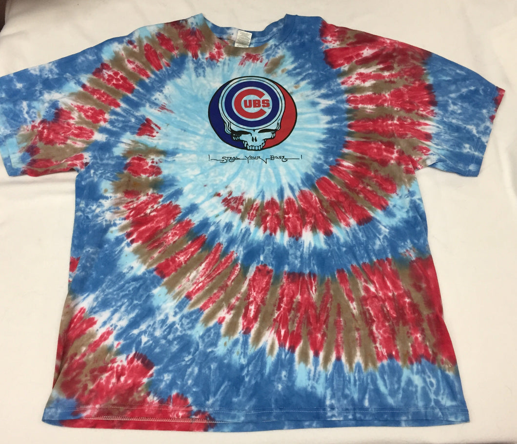 Steal Your Base Cubs Tie Dye