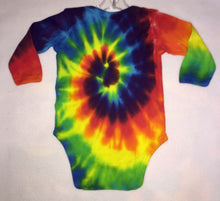 Load image into Gallery viewer, Tie-Dye Long Sleeve Onsies Newborn-12 months