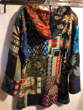 Load image into Gallery viewer, Wool Patchwork Pullover: Medium