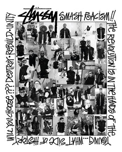 stussy 40th anniveresary collage