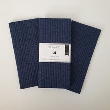 Load image into Gallery viewer, Navy Solid Dyed Sponge Cloth